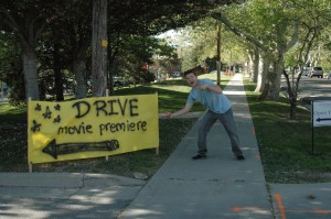 Pointing out the Drive Poster