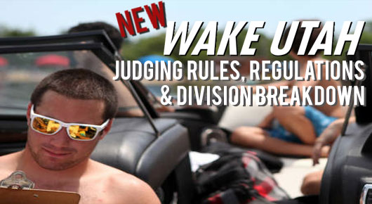 New Wakeboard Judging & Division Breakdown
