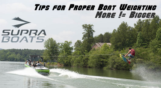 Tips for Proper Boat Weighting