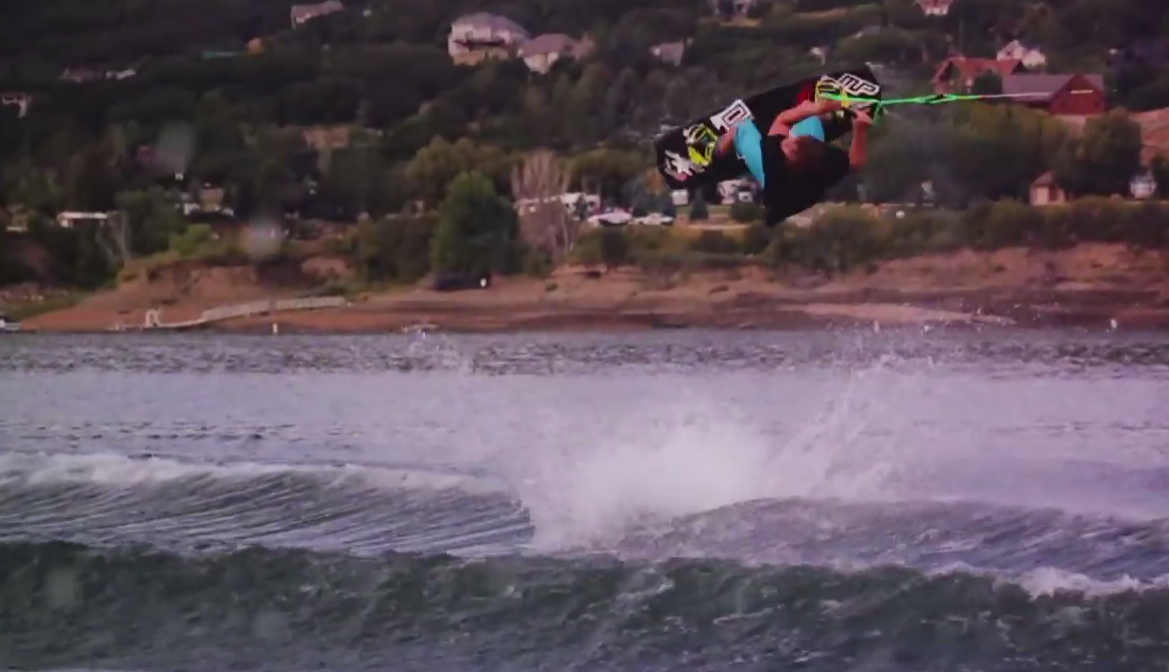 Local Utah Wakeboarders in Music Video