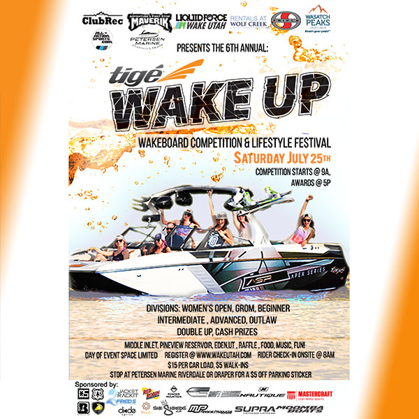 Tige Wake Up wakeboard Competition 600px X 600px